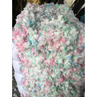 Wholesale Cheap Mixed Color Recycled Shredded 50% Memory Foam Scrap And 50% Furniture Foam Scrap thumbnail image