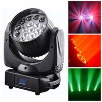 19X12W Osram Zoom LED Beam Moving Head Light thumbnail image