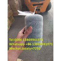 wire galvanized mesh scourer scrubbers