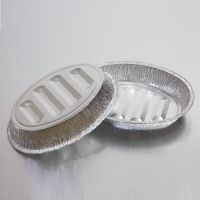 Support Customization Manufacturer Pans Smoothwall Aluminum Oval Foil Tray thumbnail image
