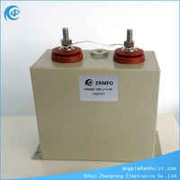 Oil Filled Metallized Film 1500VDC 500UF Pulse Capacitor