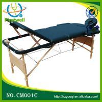 wooden massage table   massage bed thumbnail image