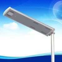 20w waterproof with PIR sensor all in one integrated solar led st thumbnail image