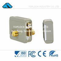 12V Elettrika - Electric Rim Lock Yale Grey Color Double-end Cylinder thumbnail image