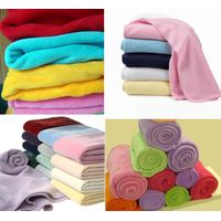 coral fleece/polar fleece throw blanket