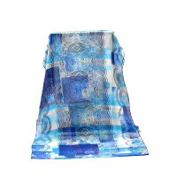 Fashionable Design Lady Shawl Thin Georgette Silk Scarf thumbnail image