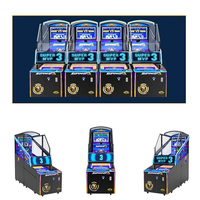 Indoor coin-operated pitching arcade basketball sports children's game console thumbnail image