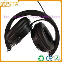 Cool black newly established headphones