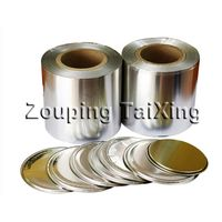 8011 lacquer aluminium foil for peel off ends