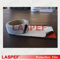 pe film for aluminum composite panel, white&black film,transparent film