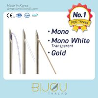 Lifting Thread Mono, Mono White, Gold (PDO, Polydioxanone)