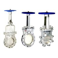 Knife Gate Valve Series Wafer Lug and Flange Types