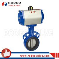 Pneumatic butterfly valve thumbnail image