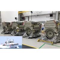 12VP185 diesel engine