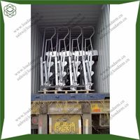 galvanizing folding stair for loading arm on the platform