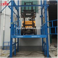 Electric freight elevator goods lift price warehouse hydraulic cargo lift for sale