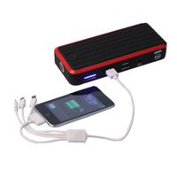 Newest listing powerful car jump starter non-fire non-explosion no pollution LED lighting SOS signal