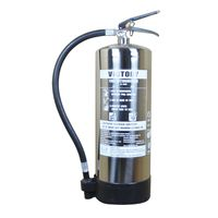 2 -- 9 L STAINLESS STEEL FOAM FIRE EXTINGUISHER thumbnail image