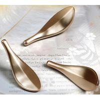 New Design Zinc Alloy Material Handle Knobs Drawer Leaf Shape