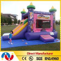 Best quality inflatable princess castle bouncy slide house thumbnail image