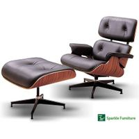 Eames lounge chair with ottoman replica thumbnail image