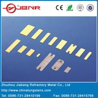 CuW RF packaging heat sink