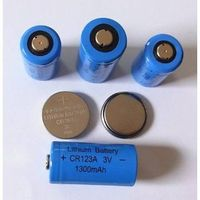 Lithium battery CR123A 3V