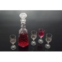 5pcs glass wine set