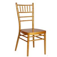 Metal Aluminium Iron Hotel Banquet Wedding Dining Chair thumbnail image
