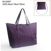 Simple Style Nylon luggage and Tote fabric Handbag from china manufacturer