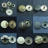Wholesale jeans metal fasteners shirt snaps
