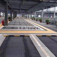 Factory Standard Galvanized Flat Carbon Steel Bar Grid Grating For Walkway Stair Platform