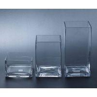 tank vase,Square glass vase SF010-012