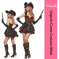 Vacodo plus size custom christmas costumes sexy party costumes for women thumbnail image