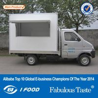 Metal Mobile Kitchen for Fast Food