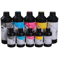 UV Curable ink for Ricoh Gen-5 soft media as PVC banner