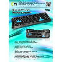 Slim and Trendy Gaming Keyboard K
