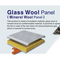 Glasswool panel(48k,64k) - Sandwich Panel