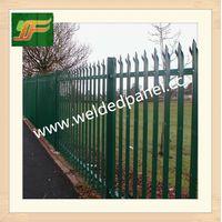 UK and Australia marketing Black galvanized coating palisade fence panel thumbnail image