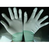 ESD (knitted) gloves with top fit/palm fit,conductive gloves