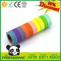 Manzawa custom printed solid washi tape