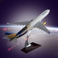 Simulation Airplane Model OEM Airbus 330 SHAHEENAIR Resin Engine Blade Hollow D thumbnail image
