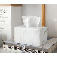 marble Square Tissue Box