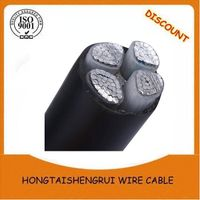 Underground Armoured Aluminum Power Cable 0.6/1kv Steel Tape Armour PVC Insulation wire cable