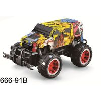 Christmas gift RC off-road vehicle truck toy car for kids car toy gift 666-91B