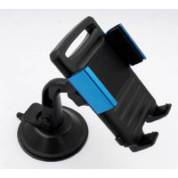 New Slim Car Phone Bracket Mount Holder With Aluminum Clip