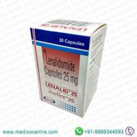 Lenalid 25mg Natco price in India