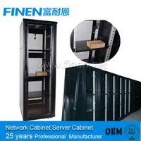 Toughened Glass Front Door 19'' China server cabinet