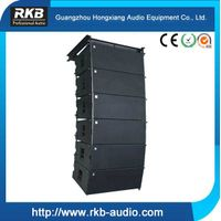 "Portable Church Sound System 2x12"" Three - way 800W RMS Line Array Speaker"