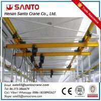 Light duty lx model underslung eot overhead bridge crane thumbnail image